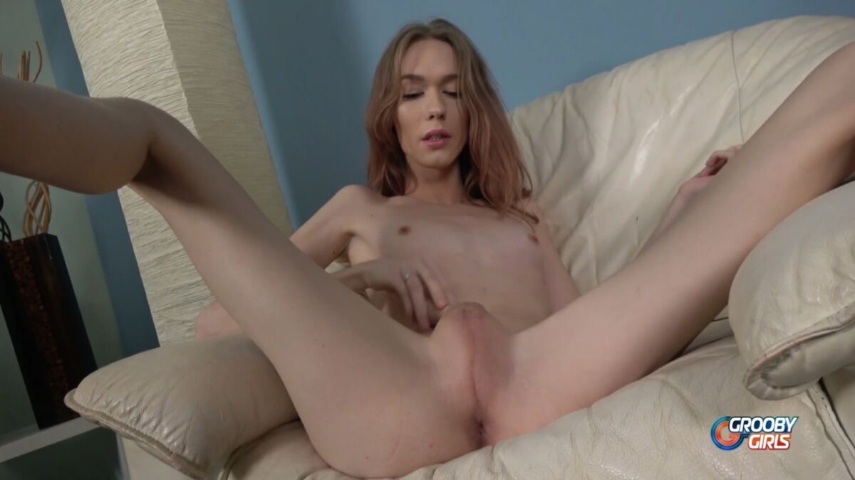 Petite Trans Crystal Thayer Gets Barebacked By Stepbrother