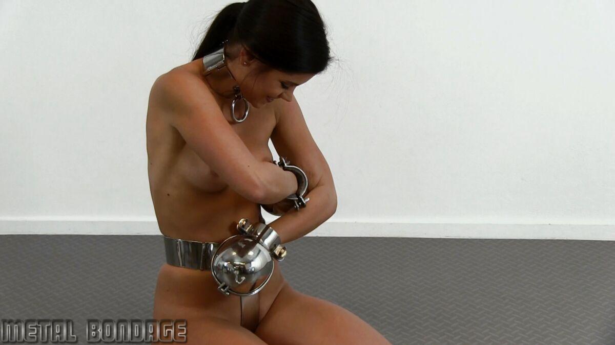Little caprice metal bondage
