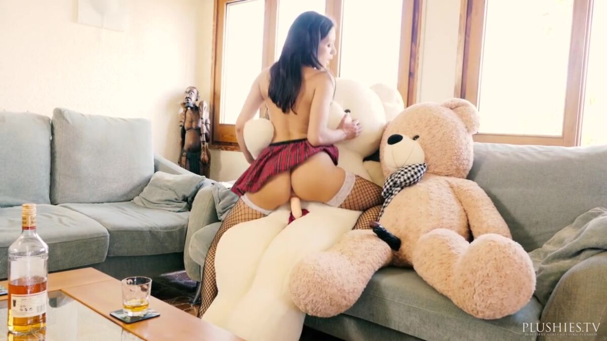 Tiny teen humping teddy bear first real orgasm daftsex