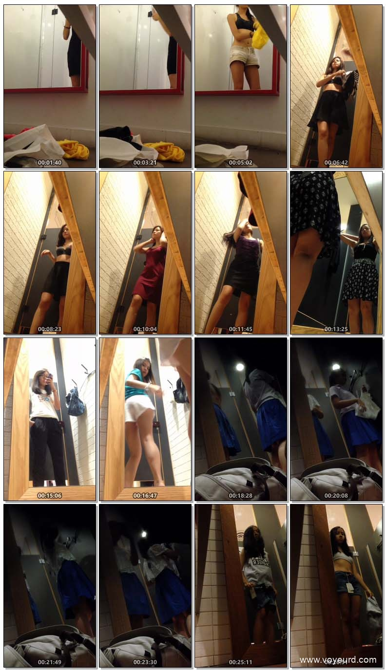Asian changing room