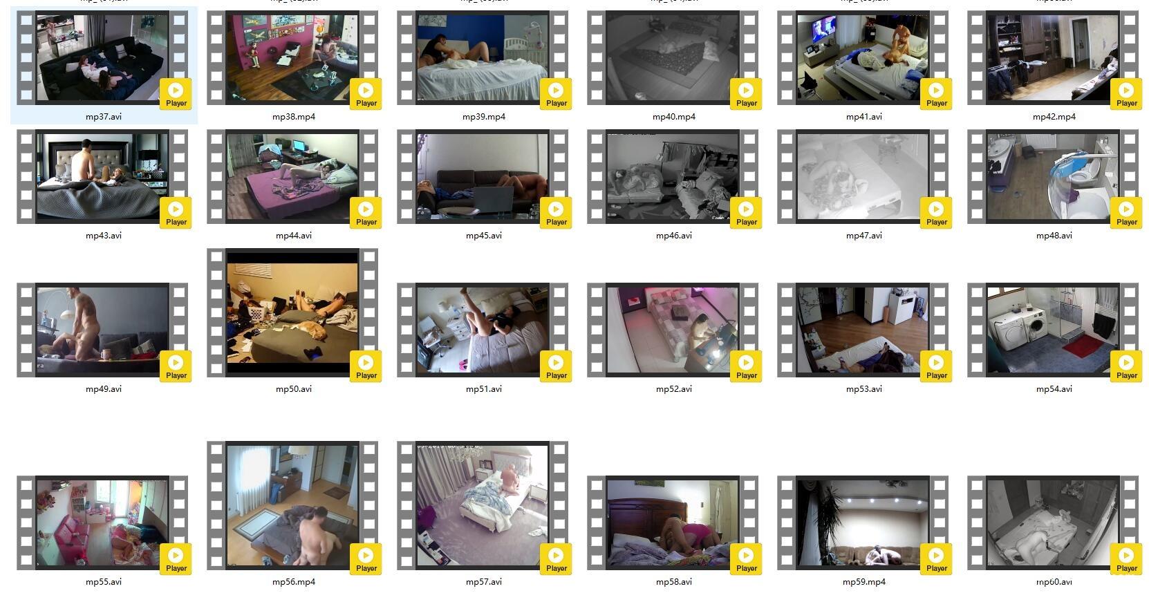 Hacked home cameras (sex, dressing up, etc.)